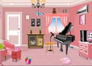 逃出粉红钢琴房间