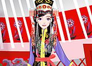 华丽蒙古族公主