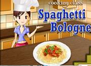 Sara's Cooking Class: Spaghetti