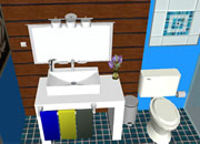 Escape Blue Bathroom 4