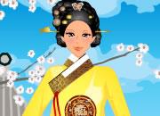 韩国古装美女