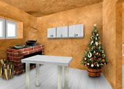 逃出明亮的圣诞房间