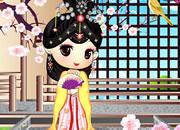 可爱古装日本小公主