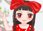 可爱日本时尚少女
