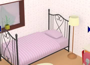 逃出温馨友人卧室