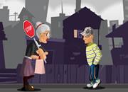 愤怒的老奶奶