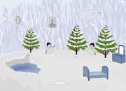 逃出圣诞冰封山洞