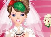 EMO另类婚纱新娘