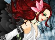 乌鸦女童话精灵