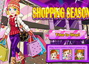 少女新年购物季