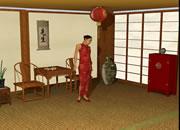 逃出中国古风房间