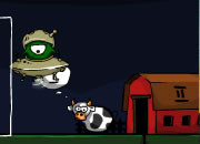 外星飞碟运奶牛