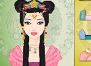 Ancient Chinese girl make up