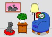 逃出可爱猫咪房间