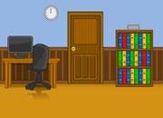 逃出宽大书房
