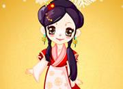 可爱中国古装小萝莉