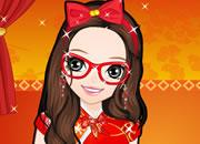 可爱的中国风少女