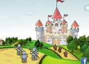 中世纪城堡守城