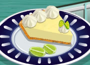 Key Lime Pie Cooking