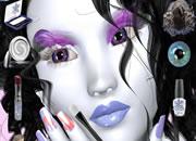 雪之女神化妆