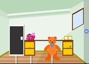 逃出快乐小熊房间