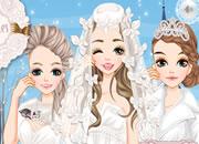 唯美白色婚纱新娘