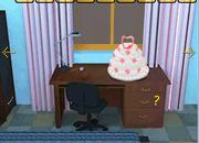 逃出婚礼蛋糕房间