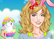 Beauty Easter Girl