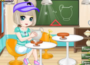 做陶器的女孩