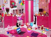 粉色卧室寻物