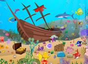 水下世界沉船寻宝