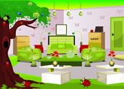 逃出绿色房间