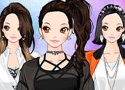 韩版休闲个性少女