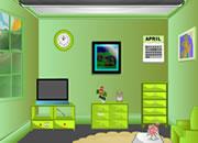逃出绿色清新房间