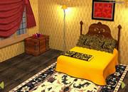 逃出金黄色卧室