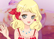 粉红甜美的公主