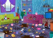 帮助萨姆打扫乱房间