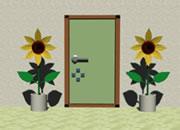 找小绿人逃出夏季房间