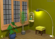 Green Bedroom Escape