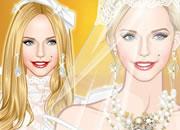 豪华的婚纱公主