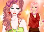 可爱彩虹模特儿