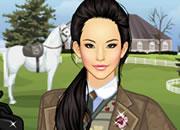 骑马女人很帅