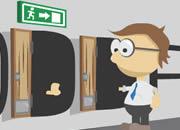 门:逃出办公室