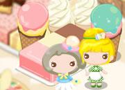可爱甜美蛋糕屋