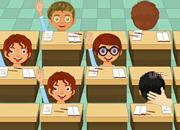 教室里扇坏学生