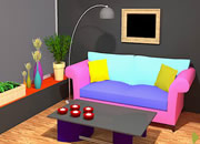 Colourful Living Room Escape