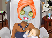 产后新妈SPA保养-女人生了娃,就像扒了一层皮,获得小宝宝这..