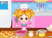 Kiki Cooking: Peach Melba