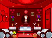 逃出红色家具卧室