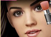 露西·海尔化妆-请你来为美女明星露西·海尔化一个全..
